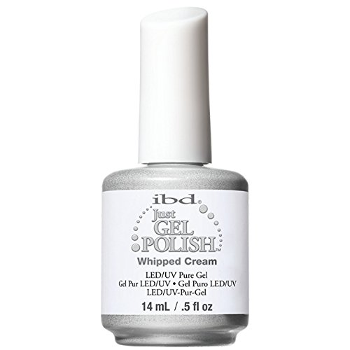 IBD Just Gel Nail Polish, Whipped Cream, 0.5 Fluid Ounce