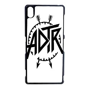 A Day To Remember_001 TPU Case Cover for Sony Xperia Z3 Cell Phone Case Black