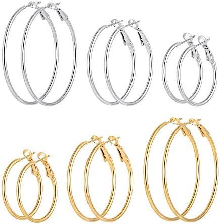 Cuicanstar Hoop Earrings Stainless Hypoallergenic product image