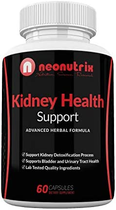 Kidney Support Cleanse Supplement - All Natural Herb Plants Dietary Supplements - Cranberry Extract Kidney Detox Cleanse - Supports Bladder Urinary Tract Health 60 Veg Capsules by Neonutrix