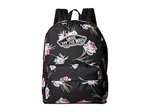Vans Realm Black Paradise Floral Backpack