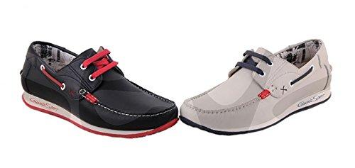 Comodo' s sport , Chaussures bateau pour homme Bleu