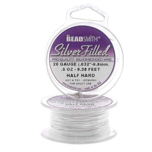 Silver Filled Wire Gauge Round