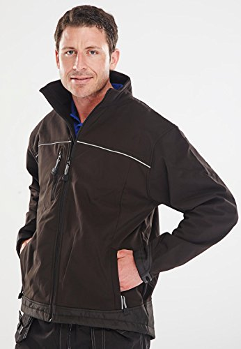 SOFT SHELL JACKET BLACK LGE