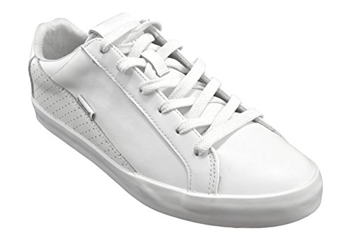 Hummel Cross Court White leather sneakers Size:37
