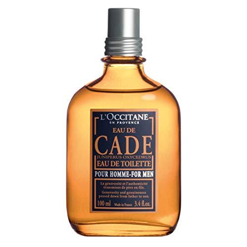 L'Occitane Rugged Cade Eau de Toilette for Men, 3.4 Fl ()