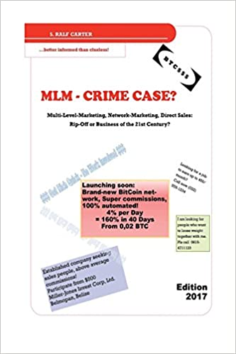 MLM - Crime Case?: Multi-Level-Marketing, Network-Marketing