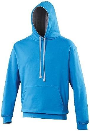 AWDis Just Hoods Varsity Contrast Hoodie