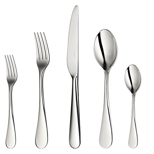 Christofle Mirror - Christofle Origine Stainless Steel 5-Piece Dinner Setting