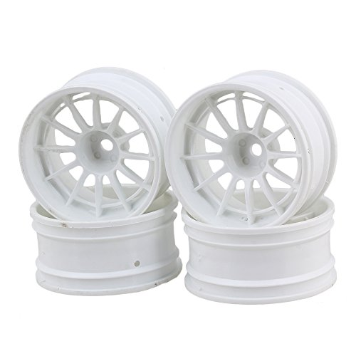White 12 Spoke - 7