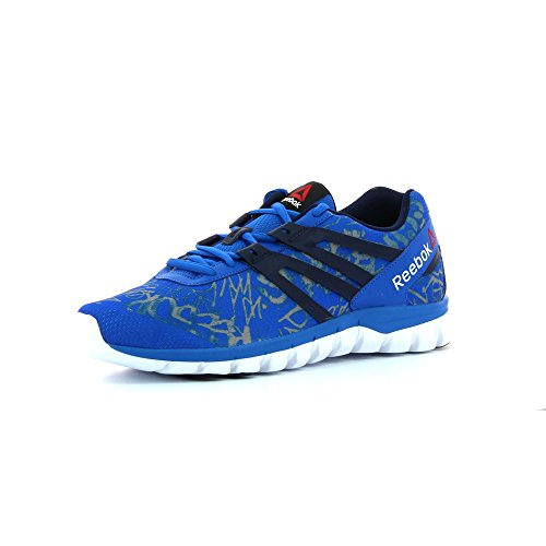 Reebok Sublite XT Cushion GRFTMT - Zapatillas de Running, Hombre Varios Colores (Royal / Black / White)