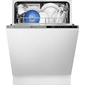 Electrolux ESL7310RO Totalmente integrado 13cubiertos A++ lavavajilla - Lavavajillas (Totalmente integrado, Acero inoxidable, Botones, LCD, 13 cubiertos, 47 dB)
