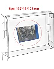 CHILDMORY 10Pcs Clear Protective Box Case Display Sleeve Protector for Playstation 3 PS3 PS4 Games Cartridge DVD Disc Box