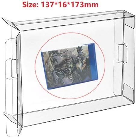 Ruitroliker 10 Unids Clear Box Funda CIB Protector para PS 4 ...