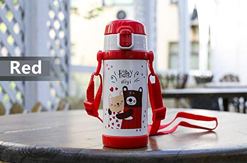 Thermos Vacuum Cup 2 Way Holiday Bear Double Wall Stainless Steel Vacuum Insulated Water Bottle For Kids from DIYI