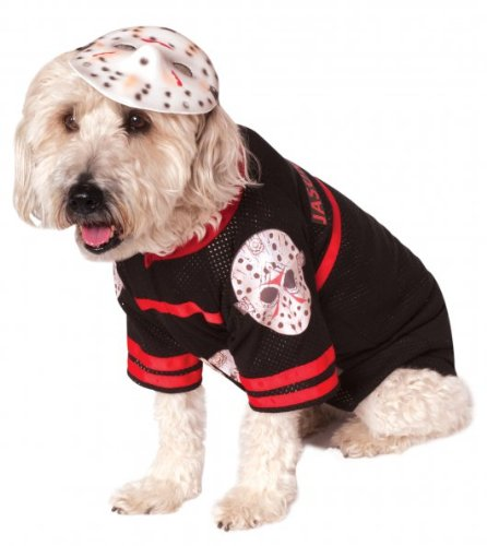 Rubies Costume Company Friday The 13th Jason Pet Costume, Medium