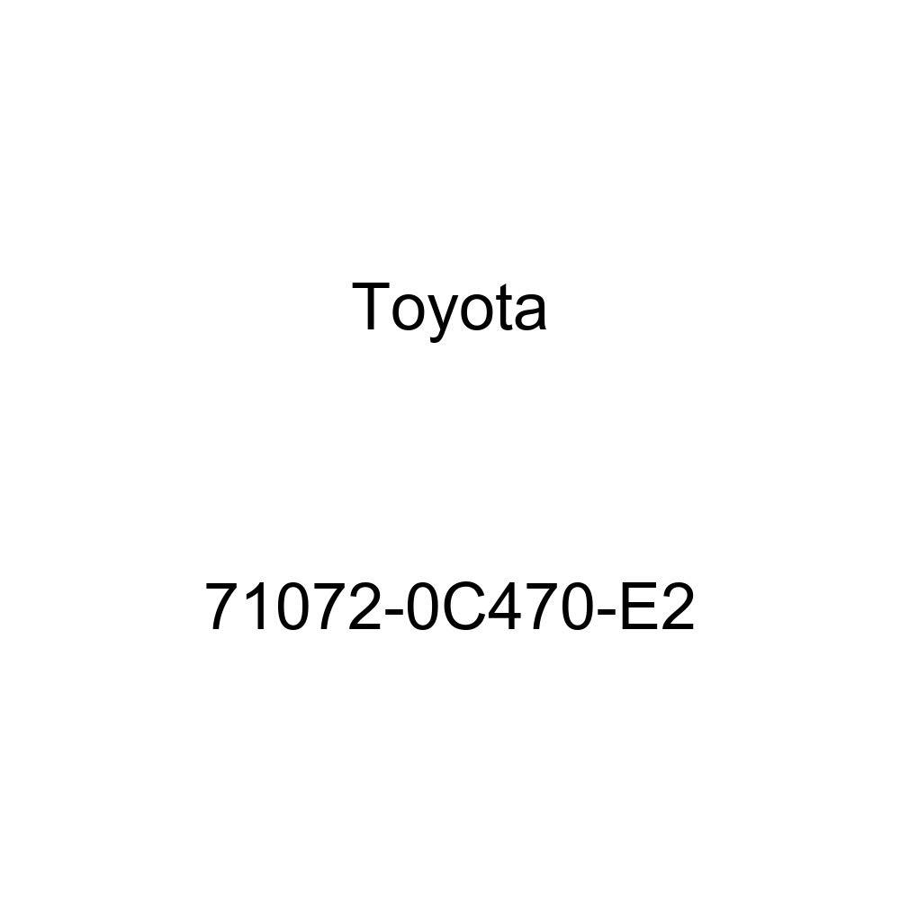 TOYOTA Genuine 71072-0C470-E2 Seat Cushion Cover