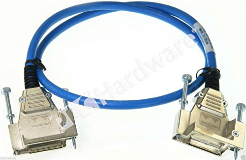 Meter Stack Cab 1 (Generic Brand for Cisco CAB-STACK-1M-NH StackWise Stacking Cable Non-Halogen Lead Free 1-meter Qty)