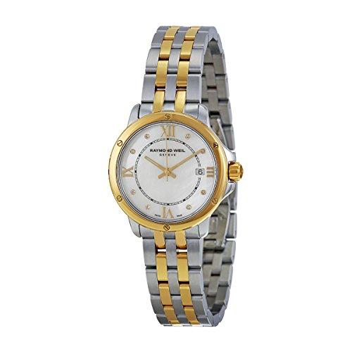 Raymond Weil Tango MOP Dial Two-Tone SS Quartz Ladies Watch 5391-STP-00995