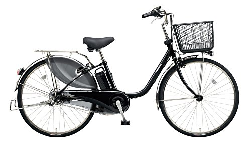 Panasonic(パナソニック) 2018年モデル ビビDX 24インチ BE-ELD434 電動アシスト自転車 専用充電器付 B078K9VLB2 B:ピュアブラック B:ピュアブラック