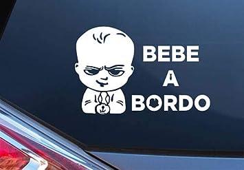 Pegatina Vinilo Bebe Jefazo a Bordo, Baby Boss on Board ...
