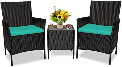 3 Pieces Patio Furniture Sets Outdoor Furniture Balcony Patio Set,Conversation Sets