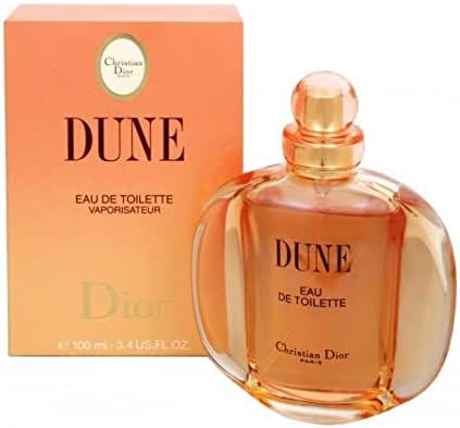 Dune Perfume By Christian Dior Eau De Toilette Spray For Women 3.4 OZ./100ML