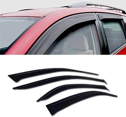 Fits 2007-2012 Nissan Altima Sedan 4PC Window Visor Rain Guards Wind Deflectors