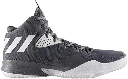 Adidas Dual Threat 2017 Scarpe Da Uomo Grigio Basket