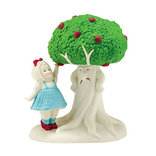 Department 56 Snowbabies Guest Collection Wizard of Oz Dorothy Picks Apples Figurine, 5.12 inch