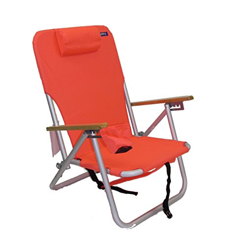 COPA 4 Position Aluminum Folding Backpack Chair (Coral) Review