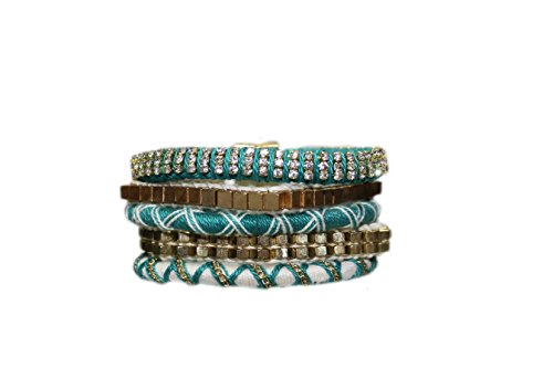 Jolie USA Turquoise Piper Magnetic Bracelet ()