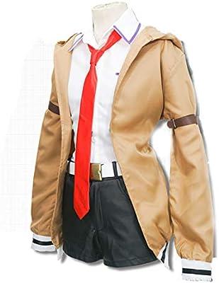 YKJ Anime Cosplay Traje Marrón Abrigo y Camisa Blanca Varios Accesorios Cosplay Chaqueta Abrigos Uniformes Conjunto Completo,Full Set-M: Amazon.es: Hogar