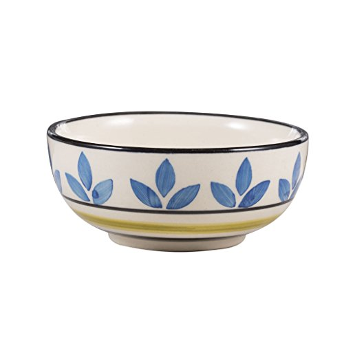Caffeine Stoneware Bowl, White