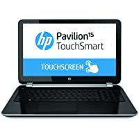 HP Pavilion TouchSmart 15-n020us 15.6-Inch Touchscreen Laptop (2 GHz AMD Quad-Core A6-5200 Processor, 4GB DDR3L, 750GB HDD, Windows 8) Black/Silver