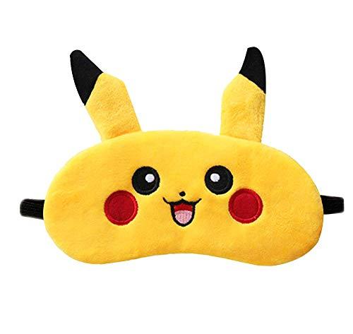 Cute Pikachu Eyes Mask Comfortable & Soft Eye Cover Sleep