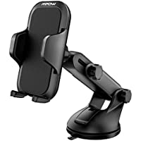 Mpow Car Phone Mount, Universal Long Arm Car Holder, Dashboard Windshield Mobile Phone Cradle for iPhone X/8/7/7Plus/6s/6Plus/5S, Galaxy S5/S6/S7/S8, Google, LG, Huawei and More
