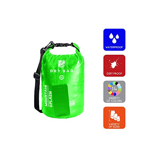 Waterproof Dry Bag 5L 10L 20L-Water Resistant Lightweight Backpack with  Handle- 0cf369c2a7661