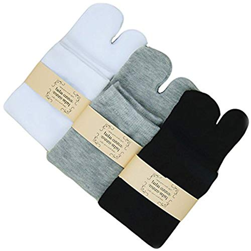 Split Toe Socks - V-Shape Flop Tabi Socks Stylish Fun Casual Split Toe Toe Socks