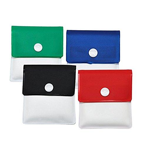 Olivia Pocket Ashtray Pouch Ash Bag -4 Pcs-Portable-Environment Friendly Reusable Ash Pocket Travel Pouch by Olivia (Image #2)