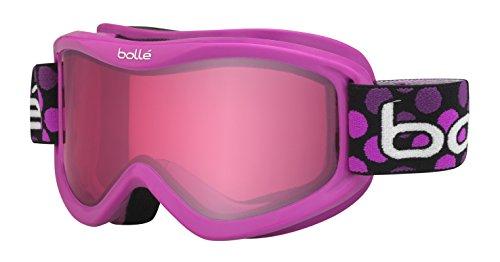 Bolle Volt Goggles, Pink Dots, Vermillion Lens