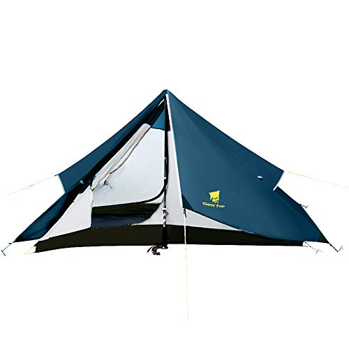 GEERTOP Ultralight 1 Person Backpacking Tent 4 Season Outdoor Waterproof Single Tent for Camping, Hiking, Climbing, Backpack Travel Exclude Trekking Poles