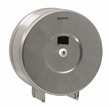 Rossignol First dispensador de papel higiénico de acero 200 m con llave bloqueo