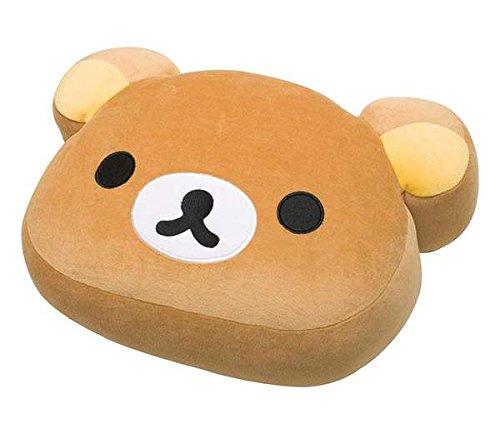 San-X Rilakkuma Face Soft Plush Pillow Cushion - MP80001 (Size L)