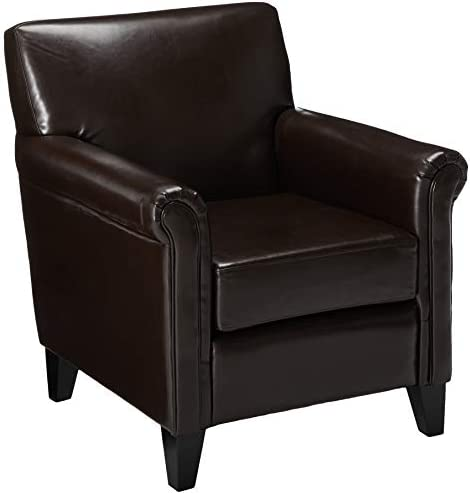 Christopher Knight Home Leeds Bonded Leather Club Chair