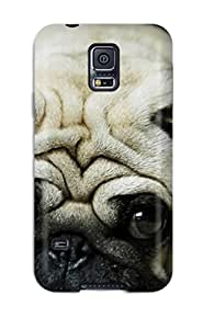 CATHERINE DOYLE's Shop Ideal Case Cover For Galaxy S5(pug), Protective Stylish Case