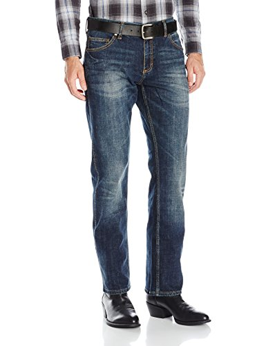 Wrangler Men's Retro Slim Fit Straight Leg Jean, Bozeman, 40x34