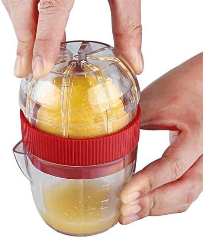 Exprimidor manual Exprimidor De Exprimidor De Limón Naranja Exprimidor Manual De Mano Fruta Cítricos Extractor De Cocina Plástico