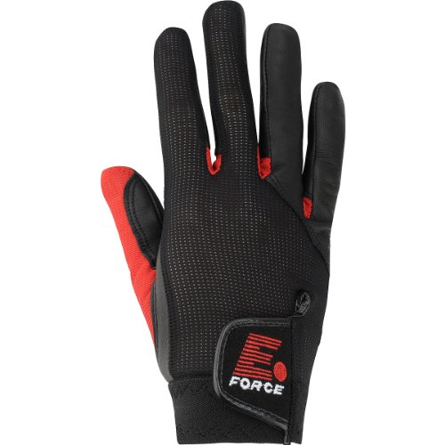 E-Force Weapon Racquetball Glove (Black/Red)-RL