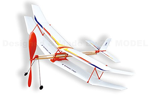 Amazon Sky Touch Ii Rubber Band Elastic Powered Glider Plane